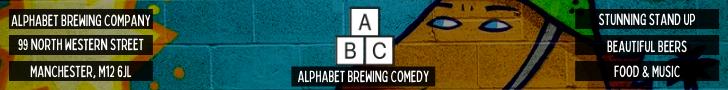 Alphabet brewing comedy nodding dog comedy jokepit