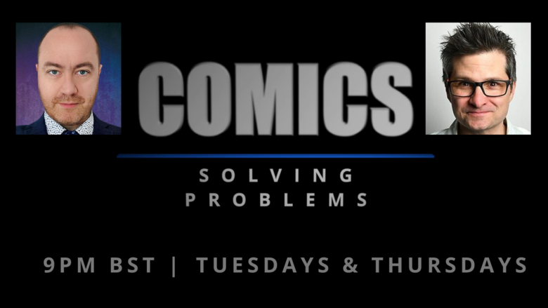 Cover comics solving problems british comedy guide