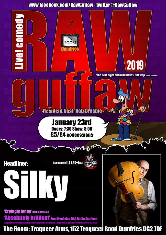 Raw guffaw  say anything wednesday 23rd january jokepit comedy tickets