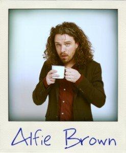 Alfie brown  lunatic  comedian jokepit comedy tickets