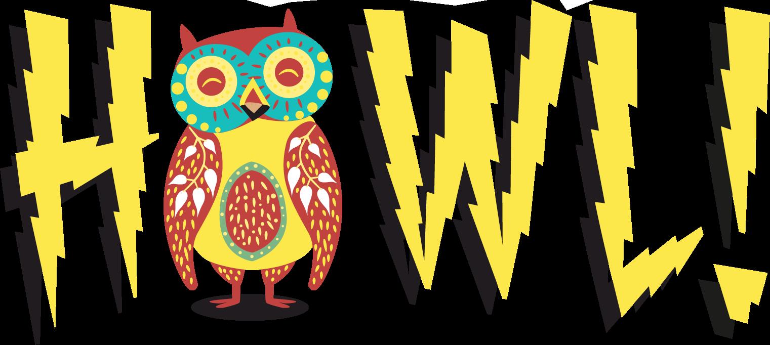 Howl logo solo yellow