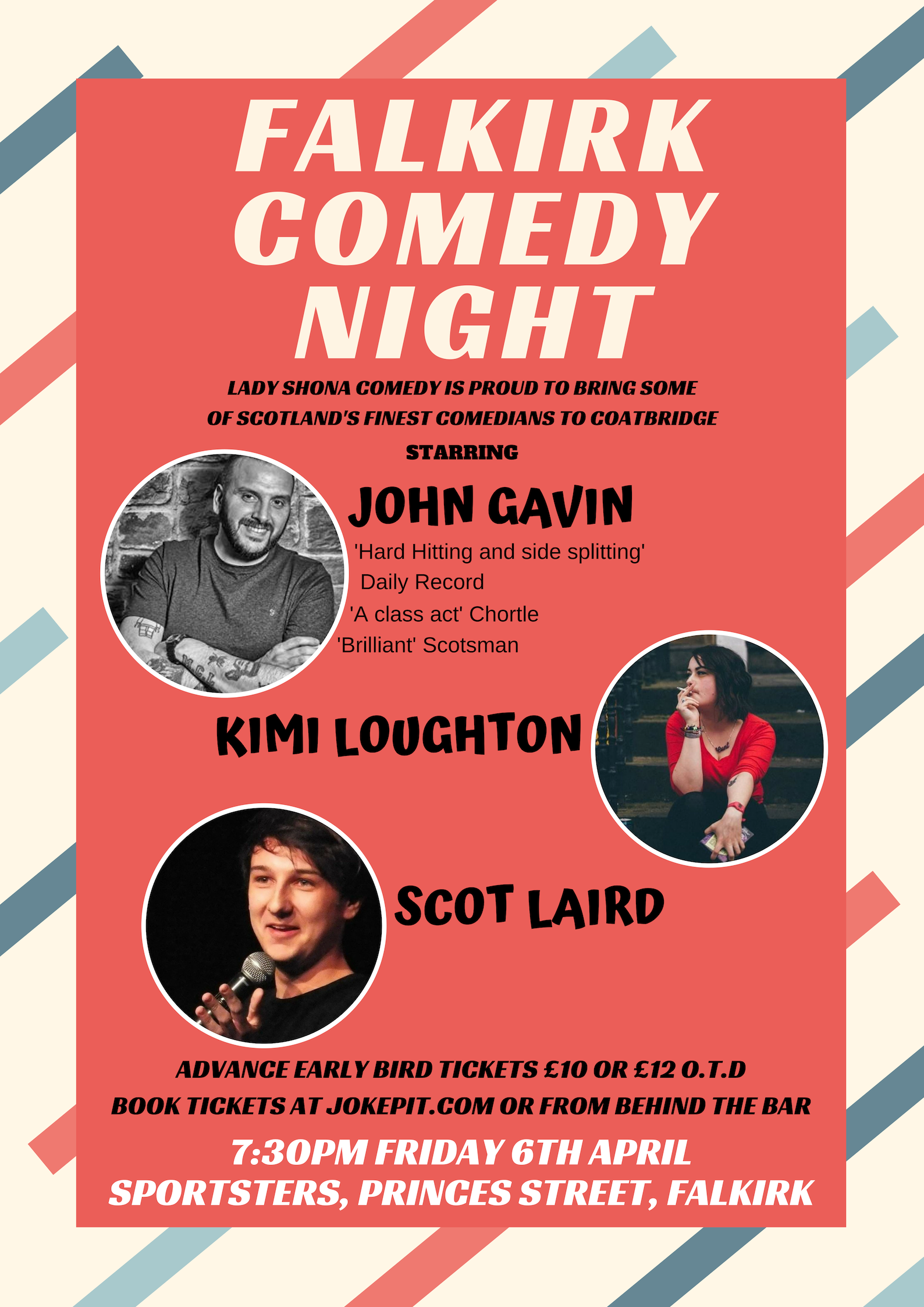 Copy of falkirk comedy night template