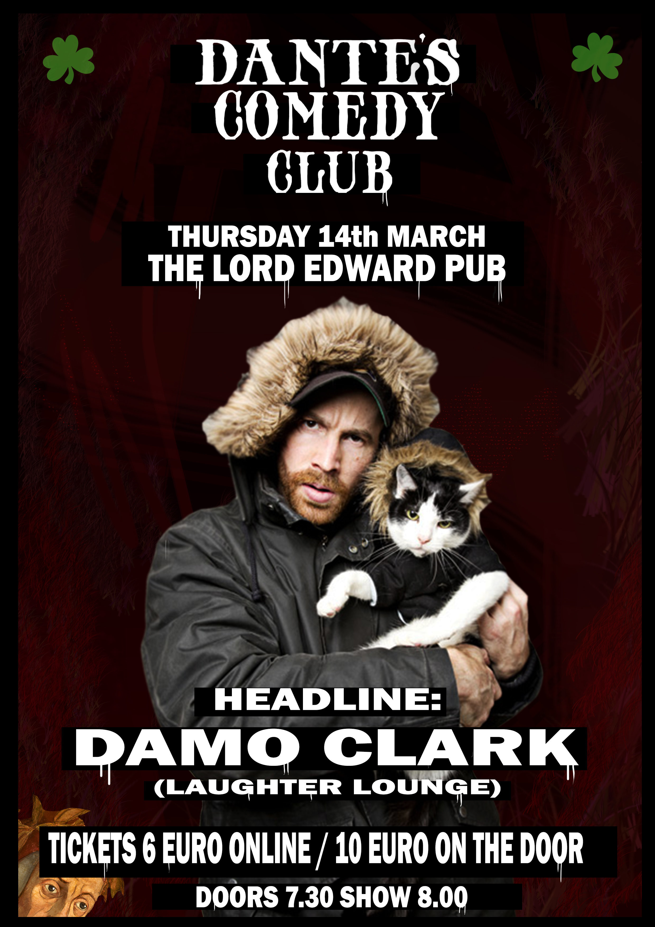 Damo clark poster