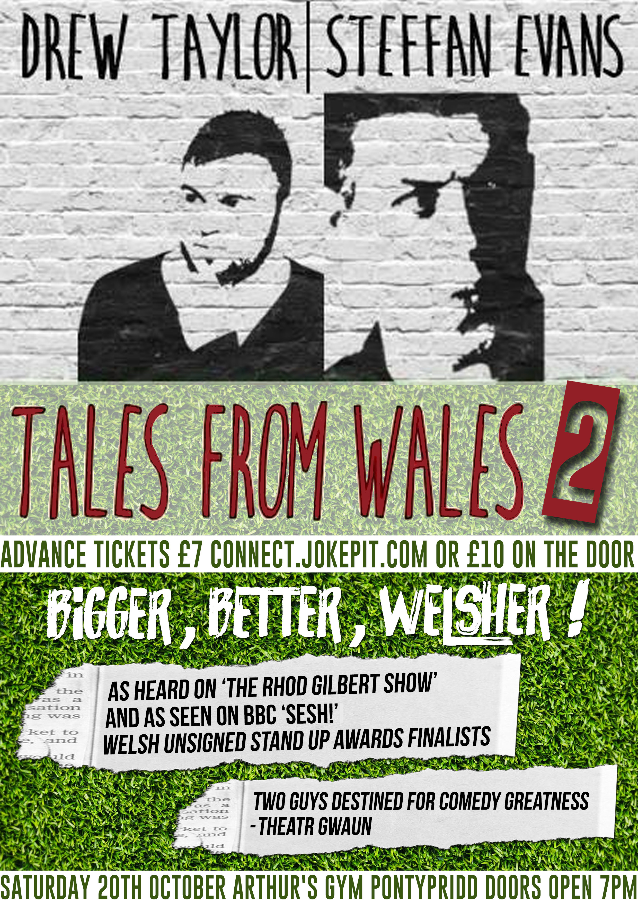 Tales from wales   arthur s gym