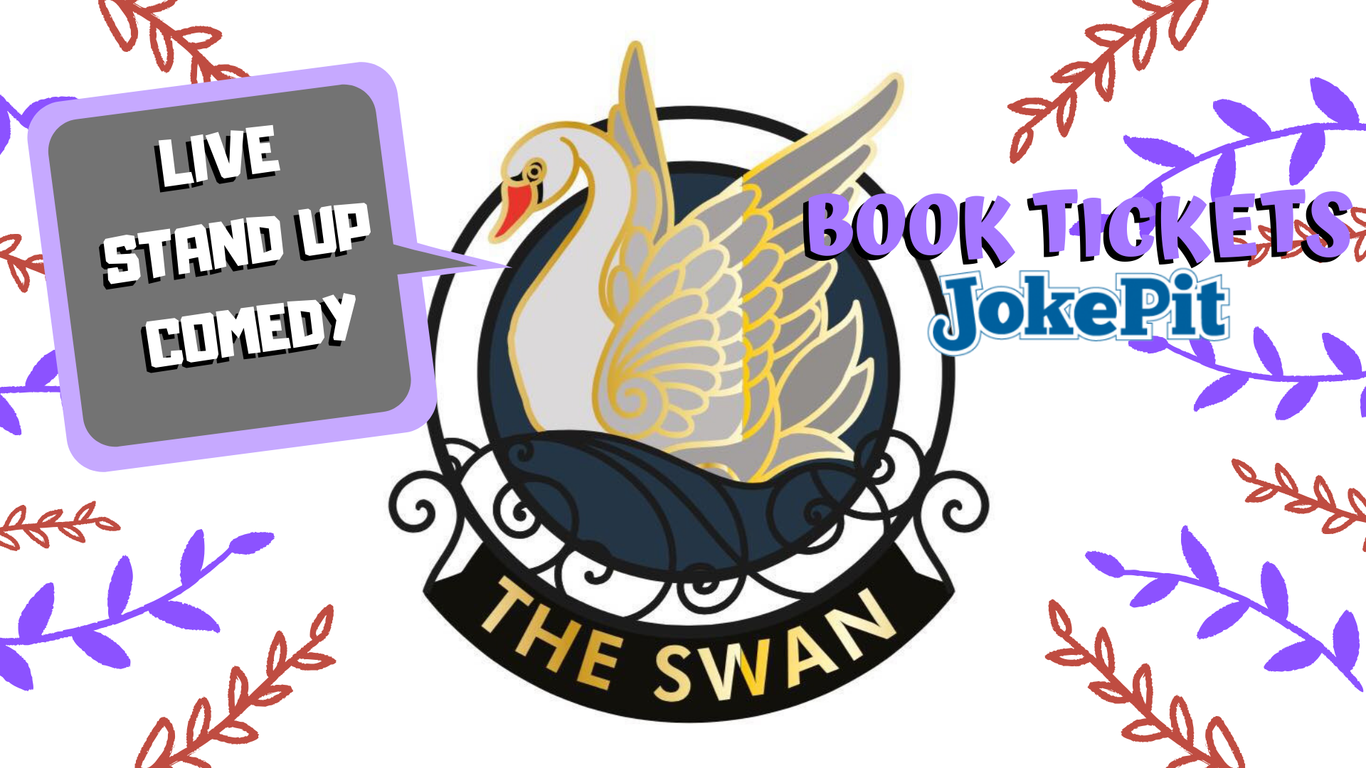 The swan live comedy hyde park