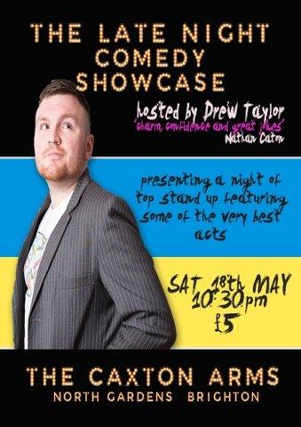 The late night comedy showcase