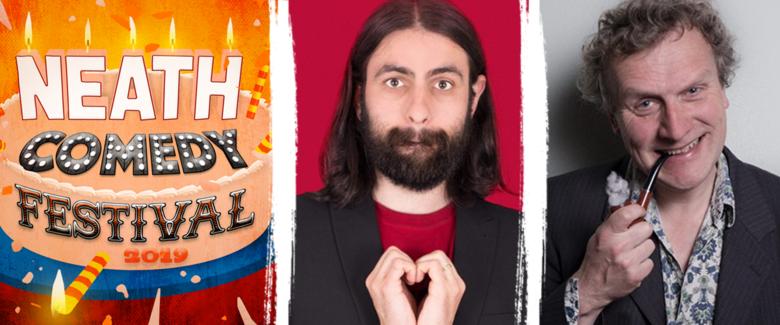 Cover gwyl gomedi castell nedd steffan alun   noel james   more at neath comedy festival 2019 jokepit comedy tickets