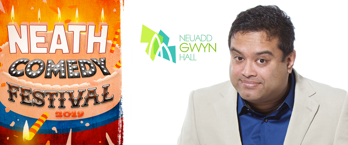 Grand finale with paul sinha at neath comedy festival jokepit comedy tickets