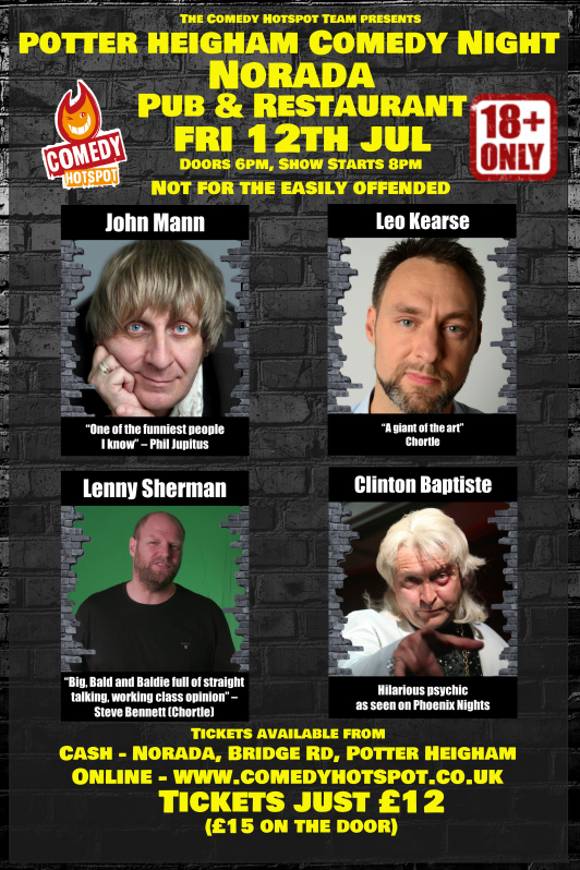 Potter heigham comedy show saturday 12th july jokepit comedy tickets