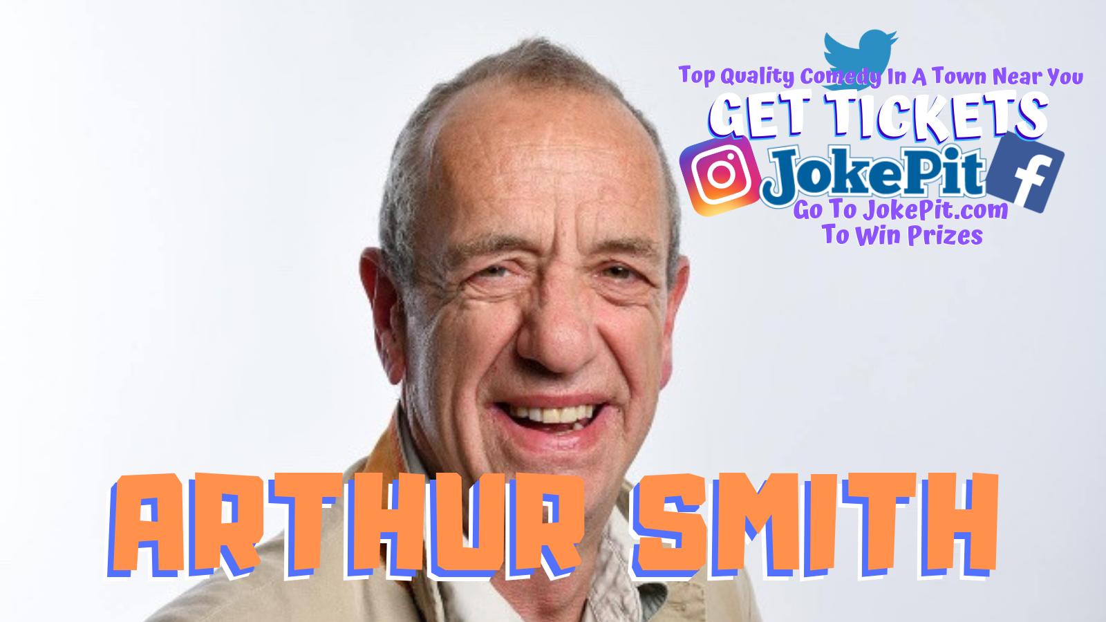 Arthur smith jokepit comedy tickets