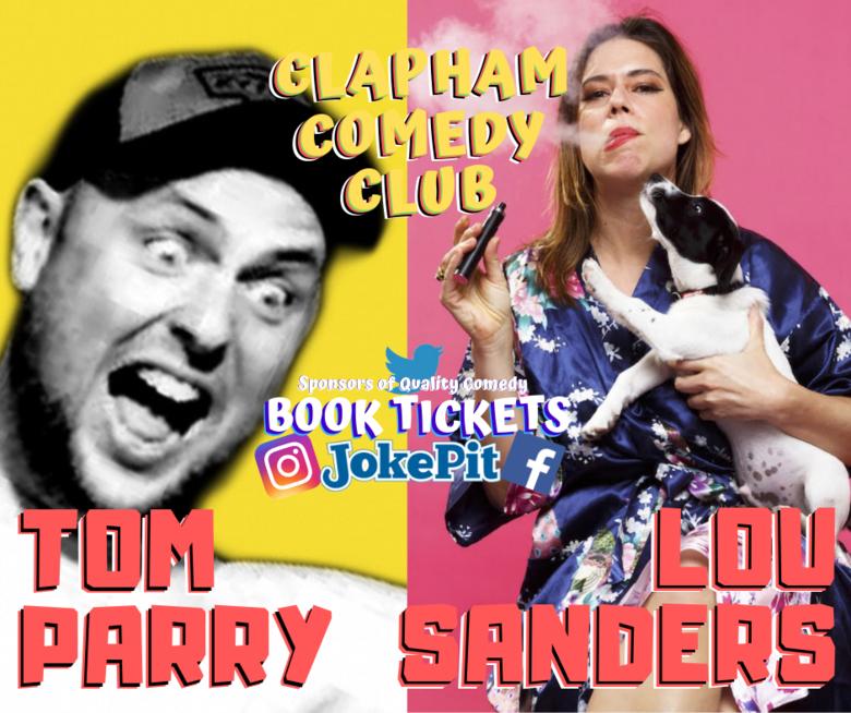 Cover tom parry lou sanders clapham comedy club