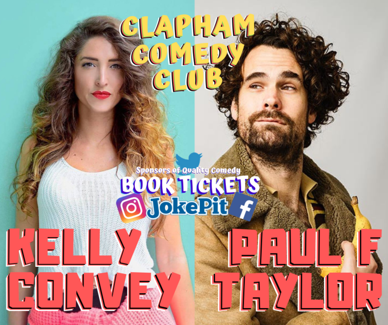 Cover kelly convey paul f taylor clapham comedy club