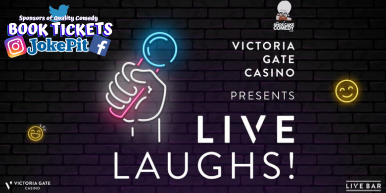 Cover live laughs victoria casino jokepit comedy tickets
