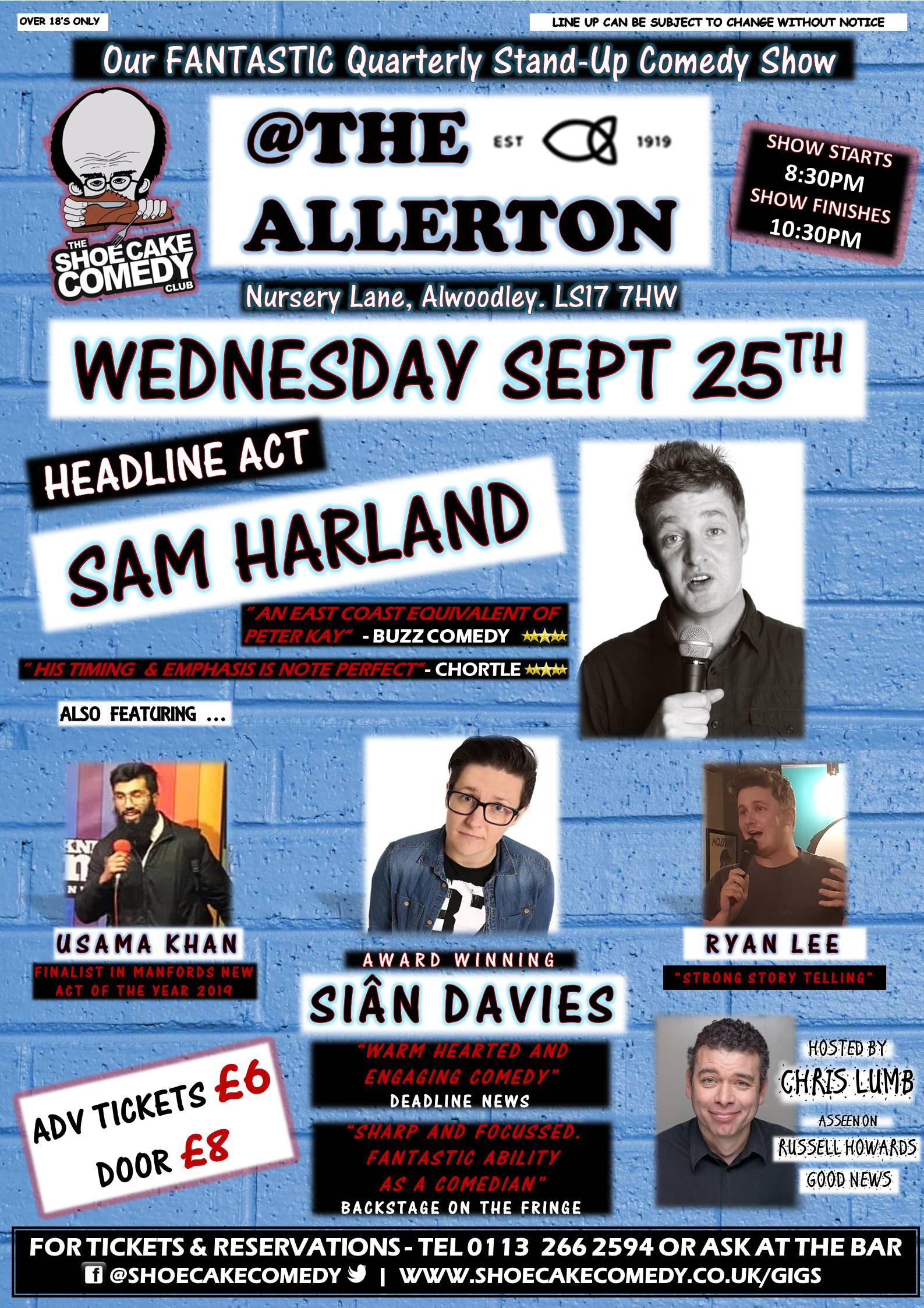 Sept 25th allerton poster
