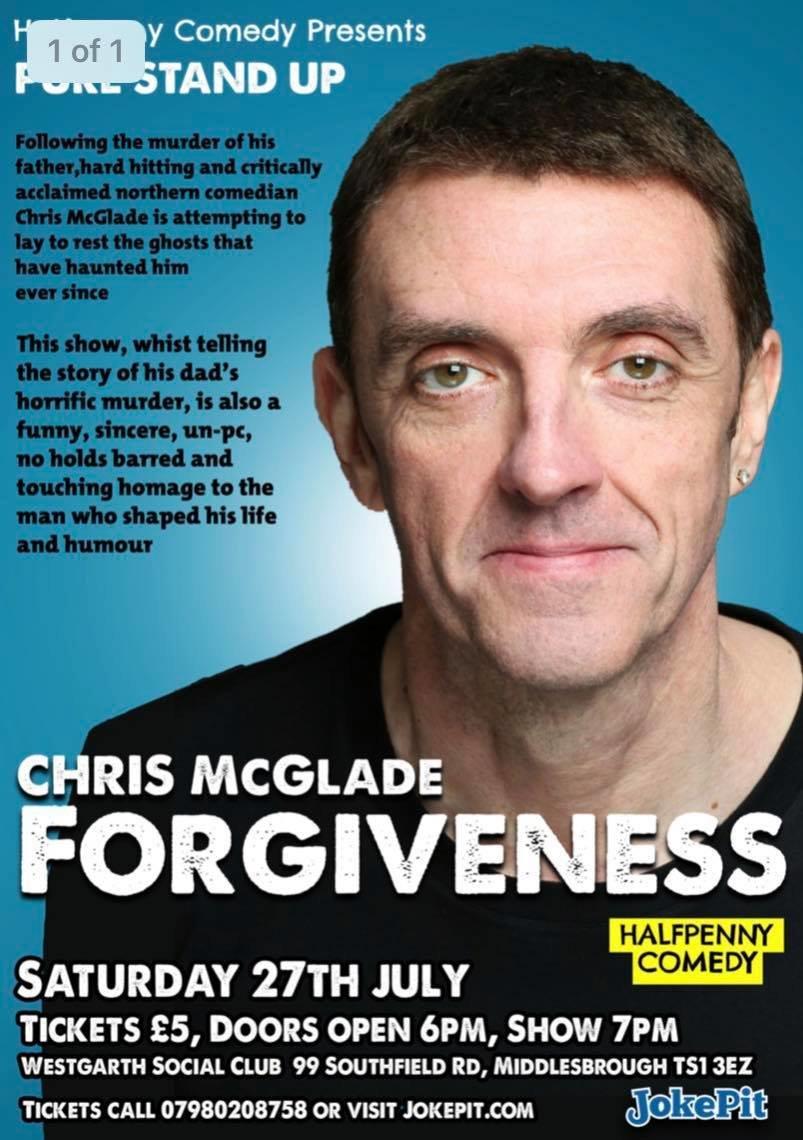 Chris mcglade   forgiveness jokepit comedy tickets