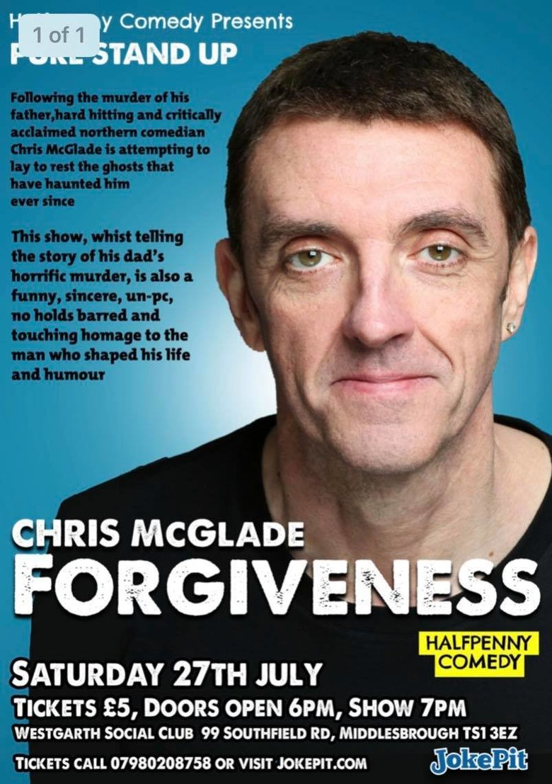 Cover chris mcglade   forgiveness jokepit comedy tickets