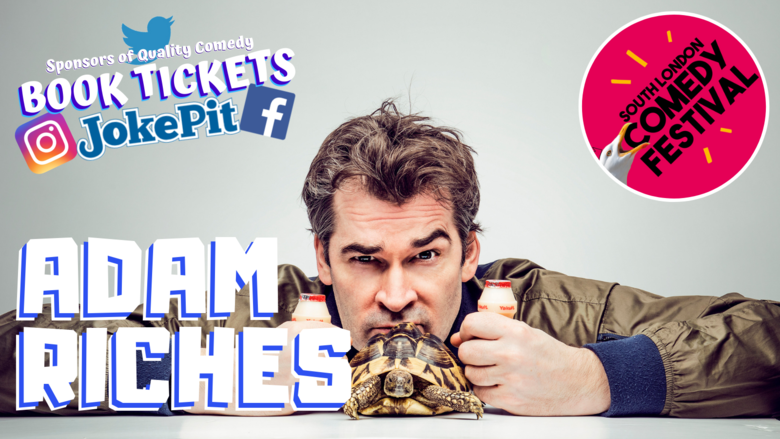 Cover adam riches jokepit comedy tickets