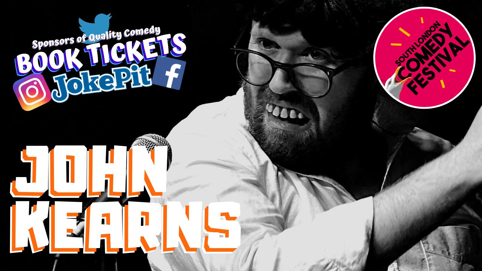 John kearns jokepit comedy tickets