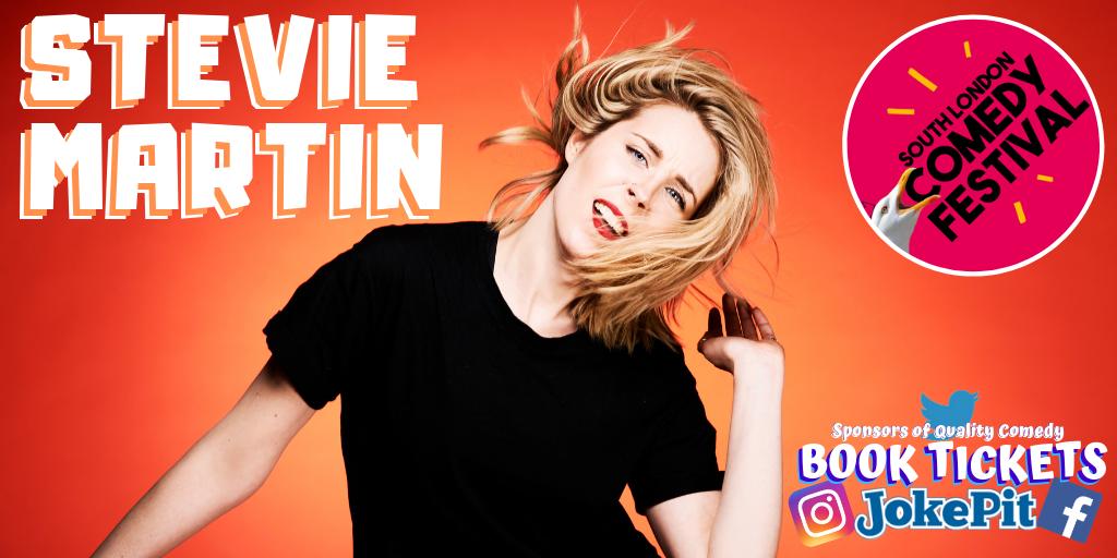 Stevie martin comedy tickets jokepit comedy tickets