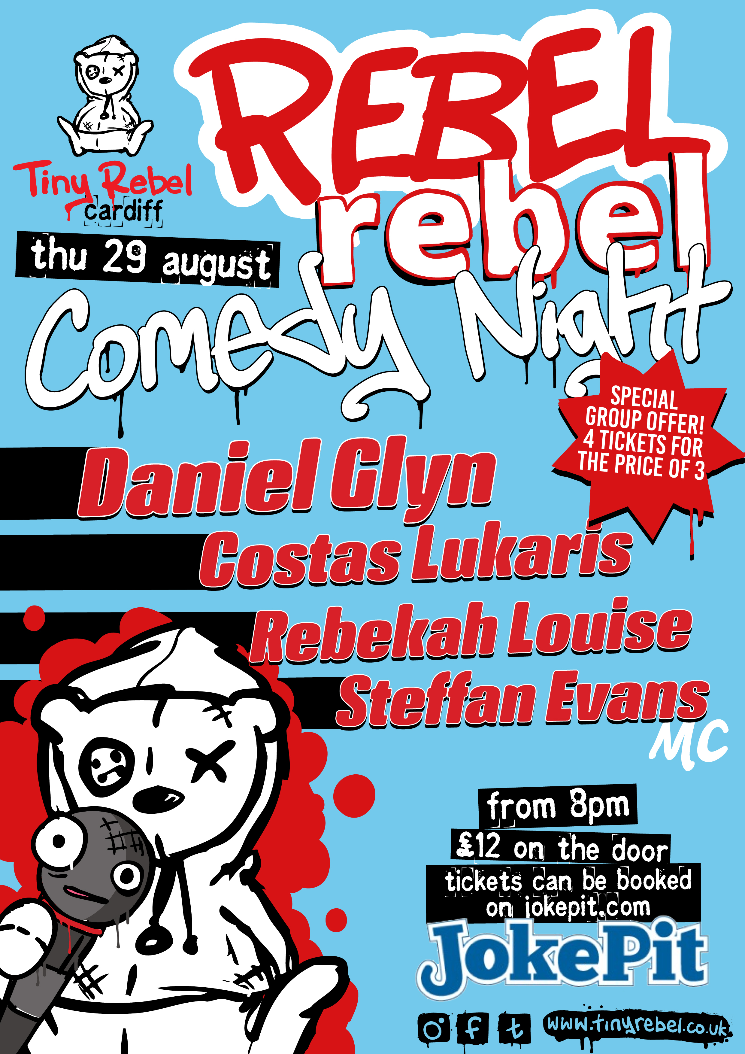 Trc rebelrebel comedy aug 13