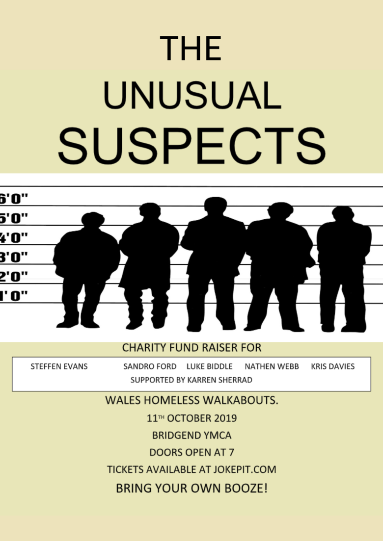Cover the unusual suspects jokepit comedy tickets  1