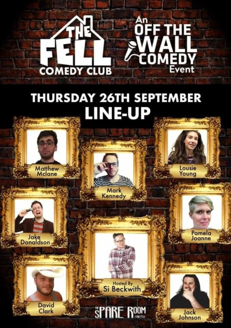 Cover off the wall comedy the fell 26th sept jokepit