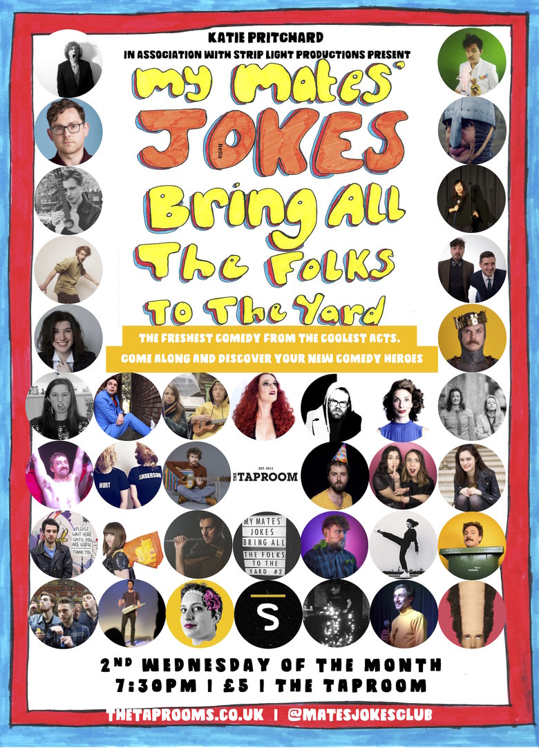 Cover my mates jokes 2019 poster 2
