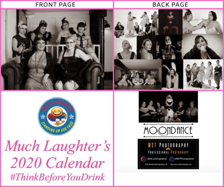 Cover much laughter s 2020 calendar pink