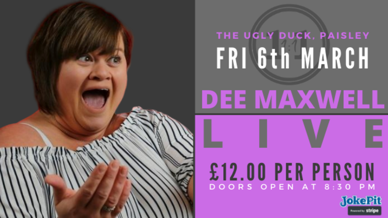 Cover dee maxwell live paisley facebook event cover