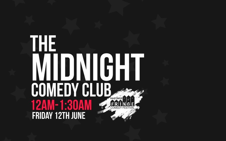 Cover friday the midnight comedy club hastings fringe comedy festival