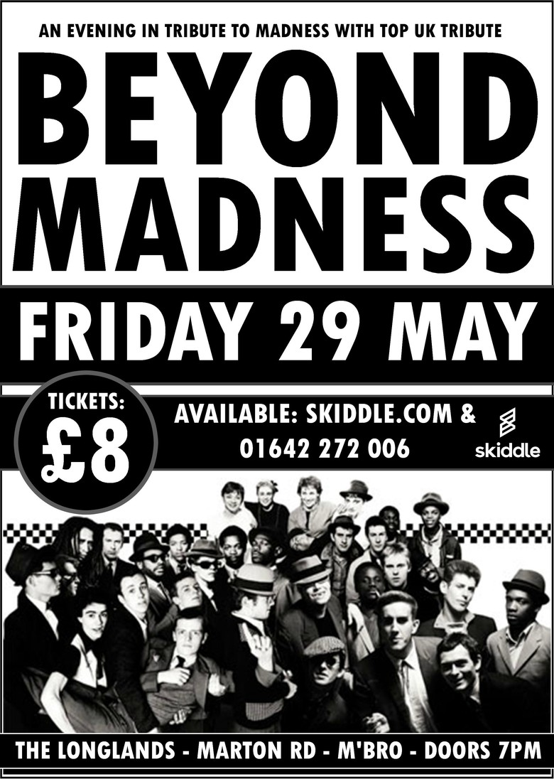 Cover beyond madness tribute to madness tickets jokepit comedy tickets