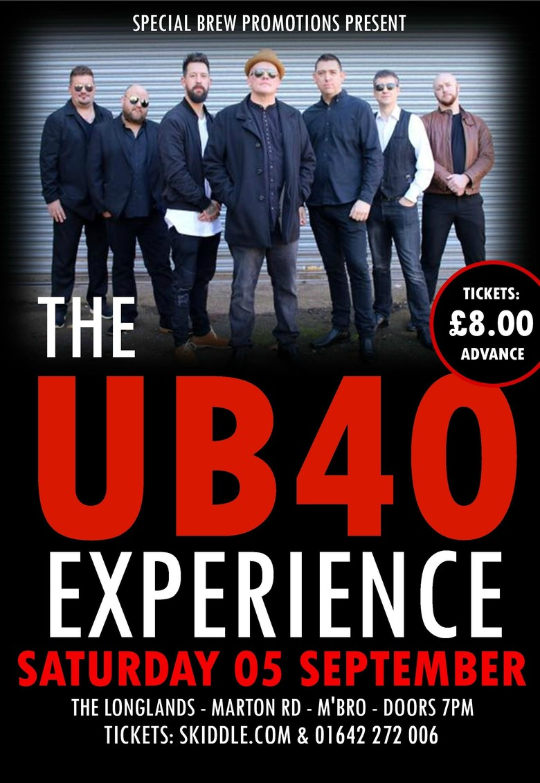 Cover the ub40 experience jokepit comedy tickets