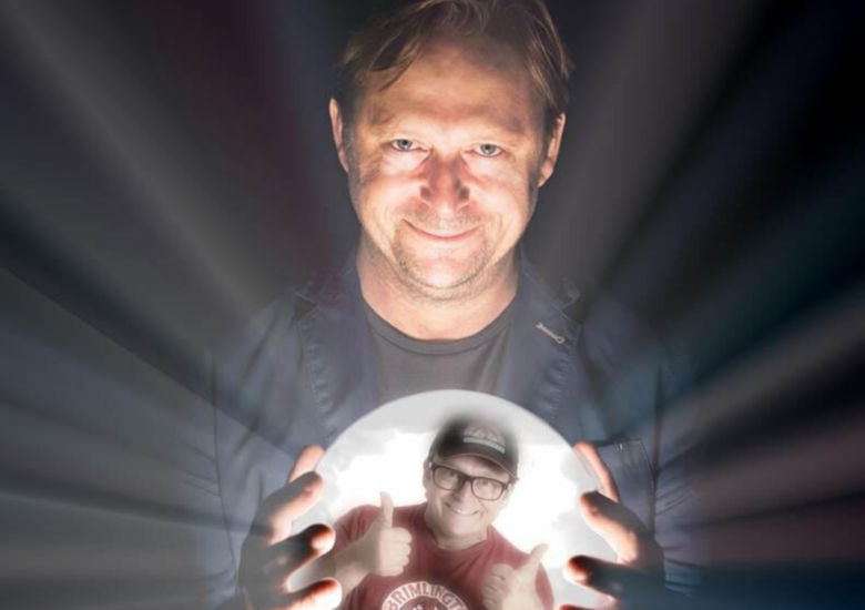 Cover tom binns  the psychic comedium jokepit comedy tickets