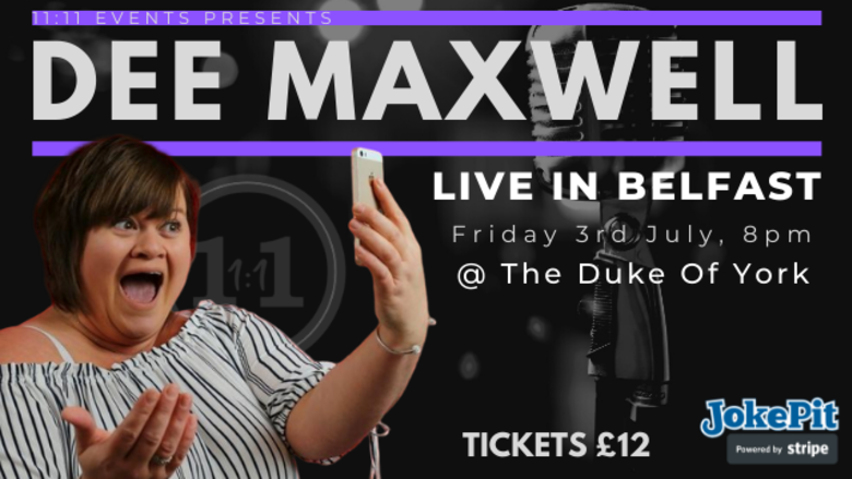 Cover dee maxwell live in belfast