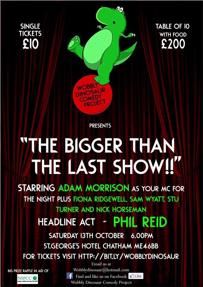 the bigger then the last show    jokepit comedy clubs tickets comedy night shows google