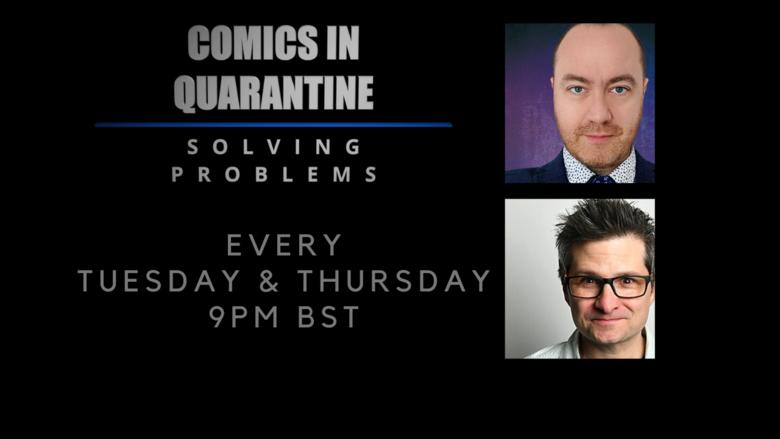 Cover comics in quarantine jokepit