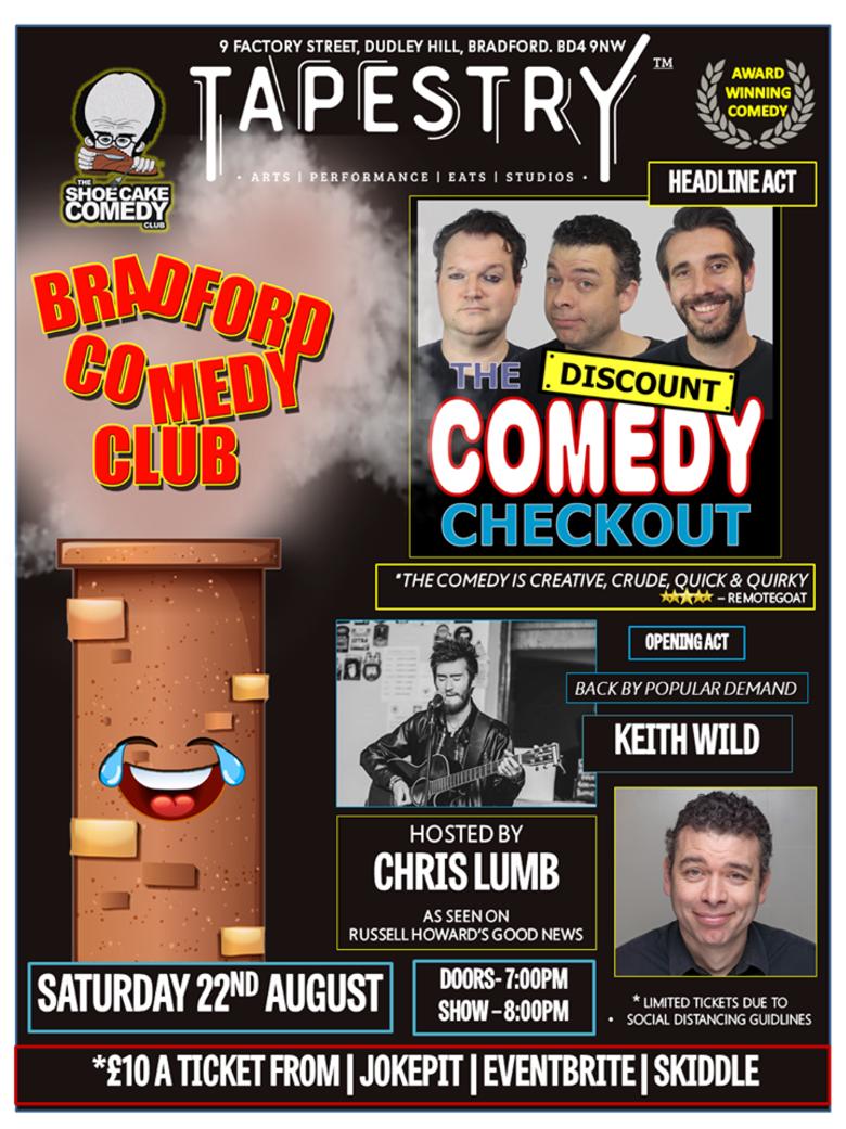 Cover bradford comedy club 22nd aug jokepit