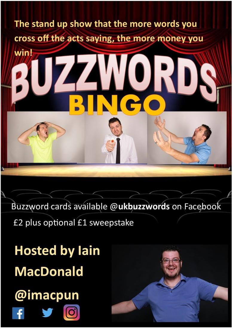 Cover buzzwords bingo