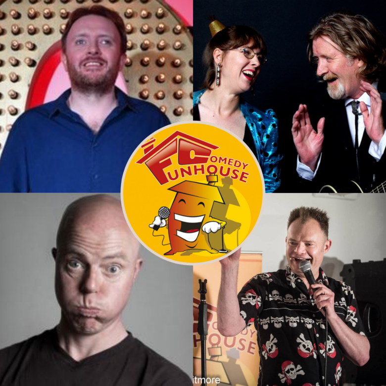 Cover funhouse comedy grantham 29th oct