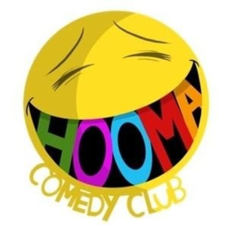 Cover hooma comedy logo jokept comedy tickets
