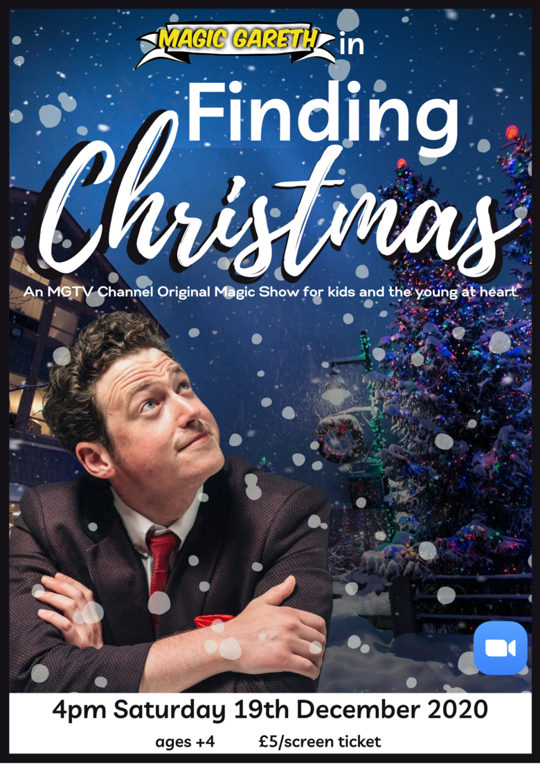 Cover finding christmas with magic gareth