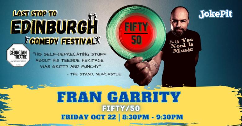 Cover fran garrity festival friday banner