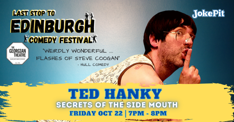 Cover ted hanky festival friday banner