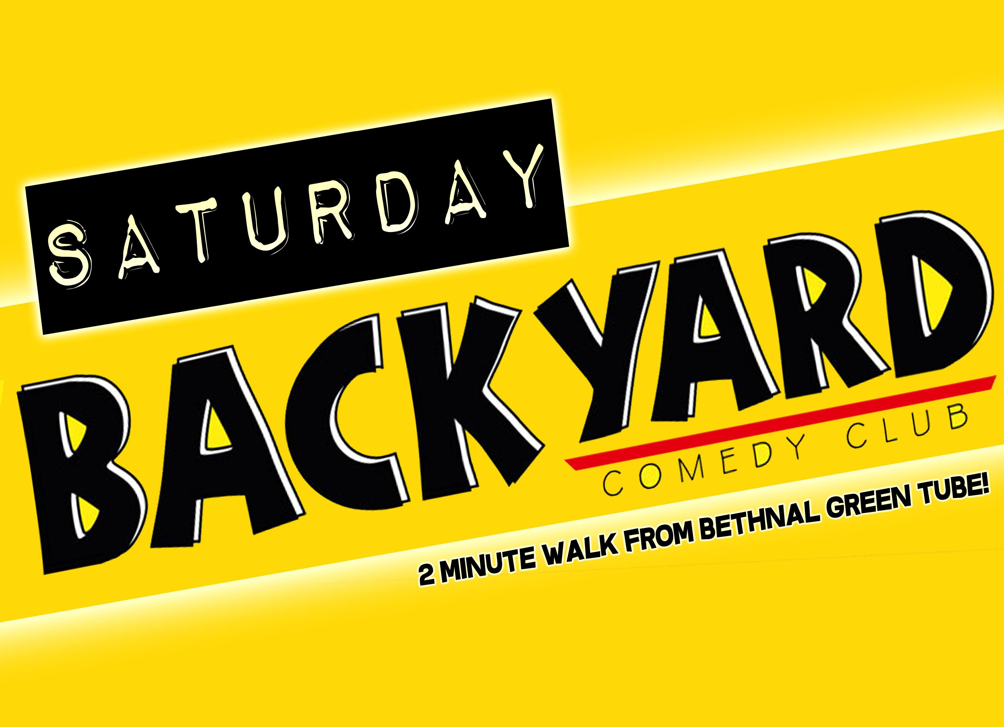 Backyard comedy club   saturday night jokepit comedy night tickets