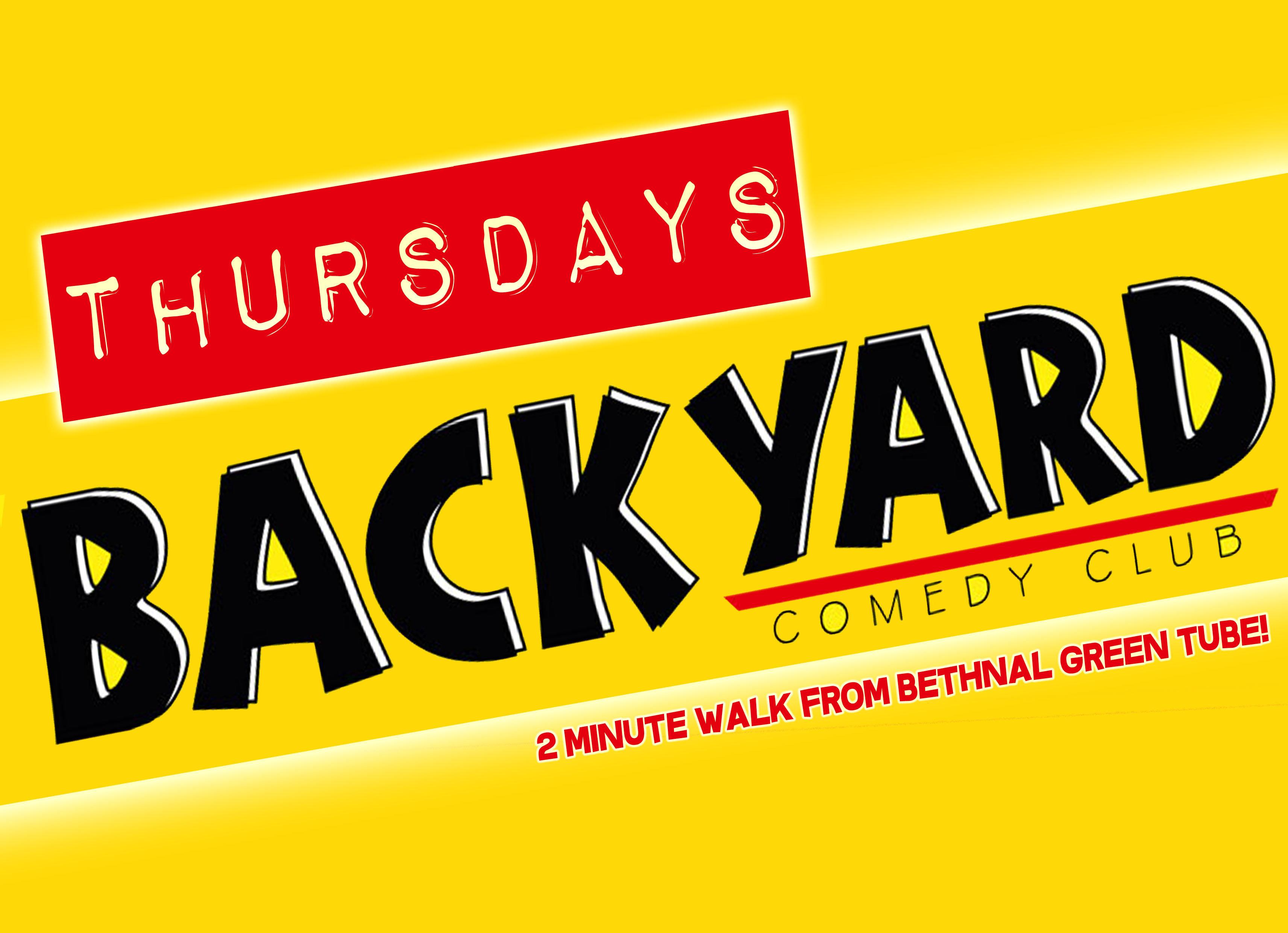 Backyard comedy club thursdays jokepit comedy club