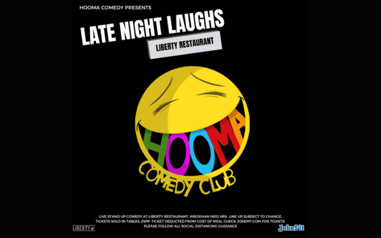 Cover liberty wroxham   late night laughs hooma comedy club jokepit