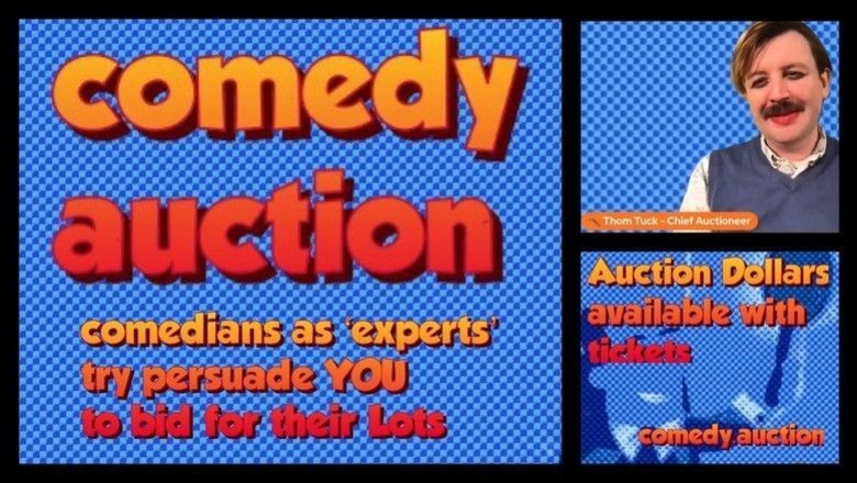 Cover comedy auction