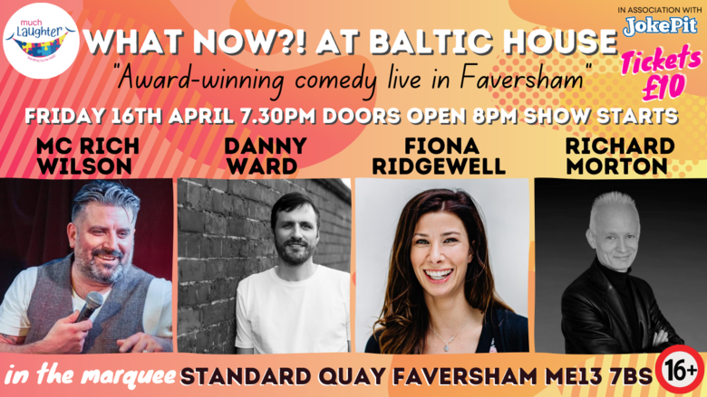 Cover 16th april what now   at baltic house