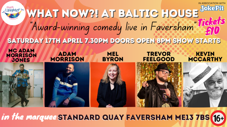 Cover 17th april what now   at baltic house
