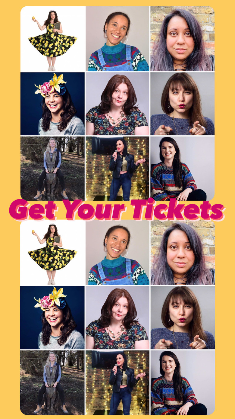 Cover tickled pink all star female comedy night